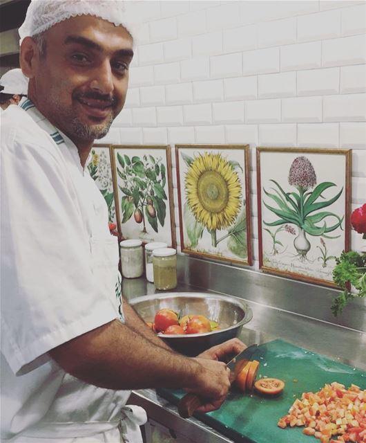 Tawlet Saida sent Chef Hamza to Tawlet Beirut this morning ... let's enjoy...