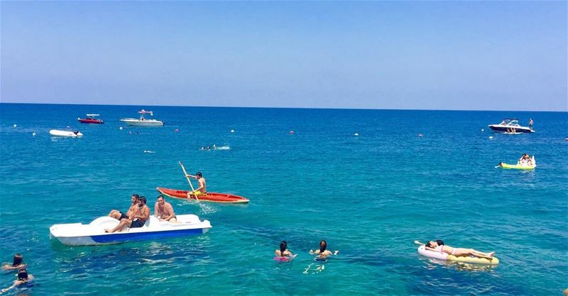summertimeshine anfehbeach liveloveanfeh bluewater clearwaterbeach ... (Ta7t El Ri7 - Anfeh)