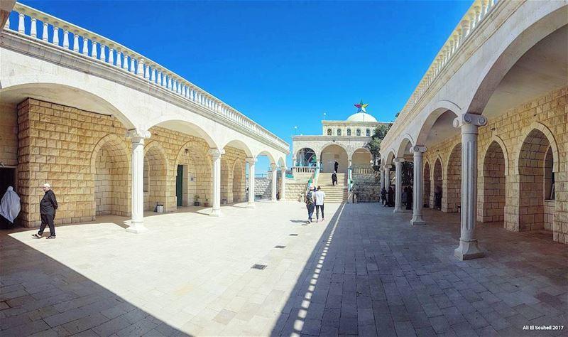tb nabiayoub mountlebanon holy prophet sky architecture panorama ... (Niha Nabi Ayoub)