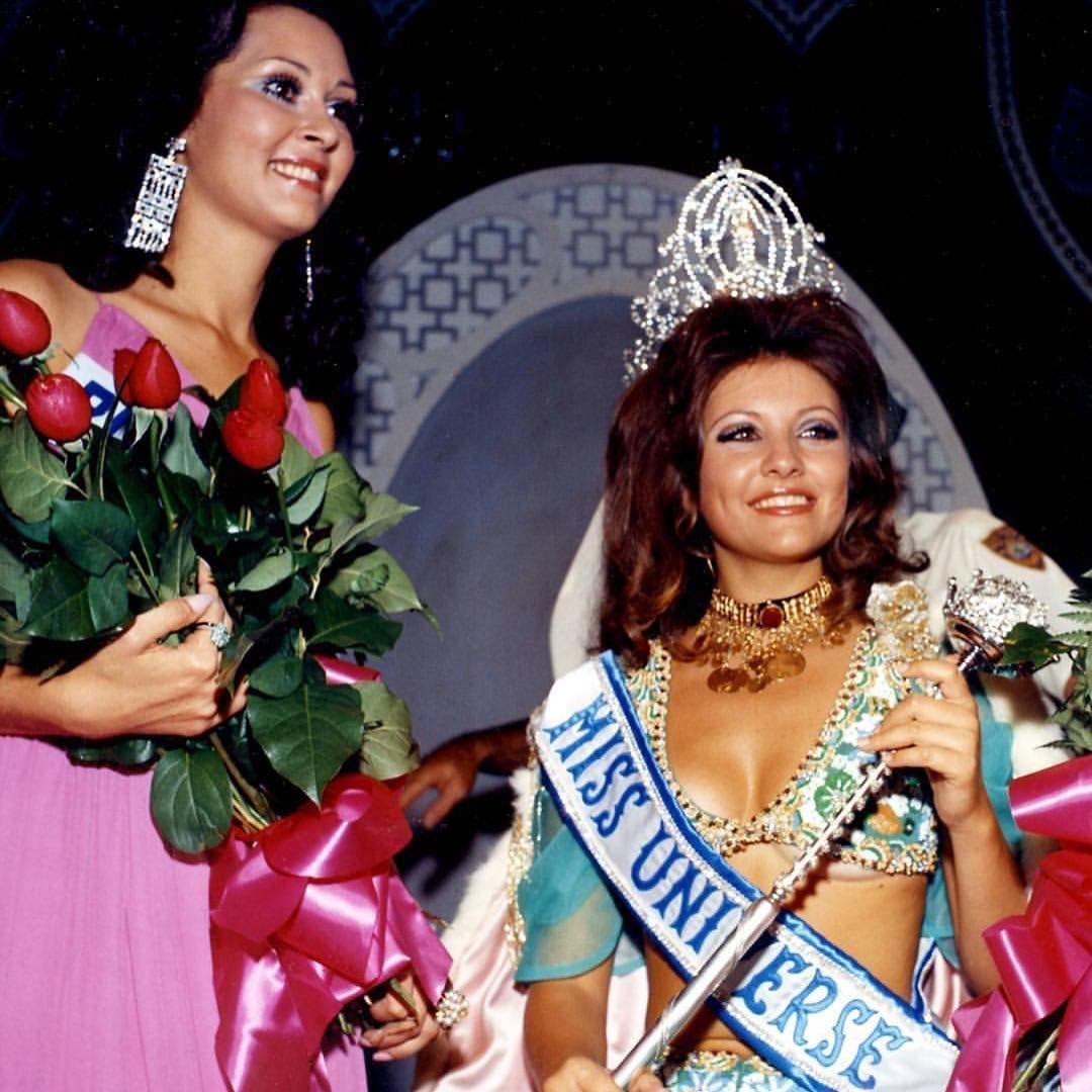 🇱🇧 Você sabia que uma libanesa já foi eleita Miss Universo? Em 1971, na... (Miami, Florida)