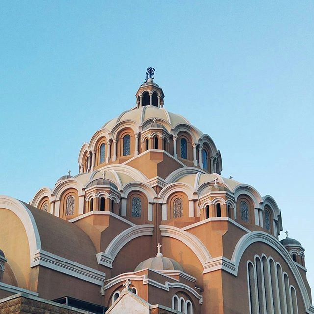 The flawless Saint Paul Cathedral @livelovearchitecture @livelovejounieh @livelovekesserwan by @theobaf (Harîssa, Mont-Liban, Lebanon)