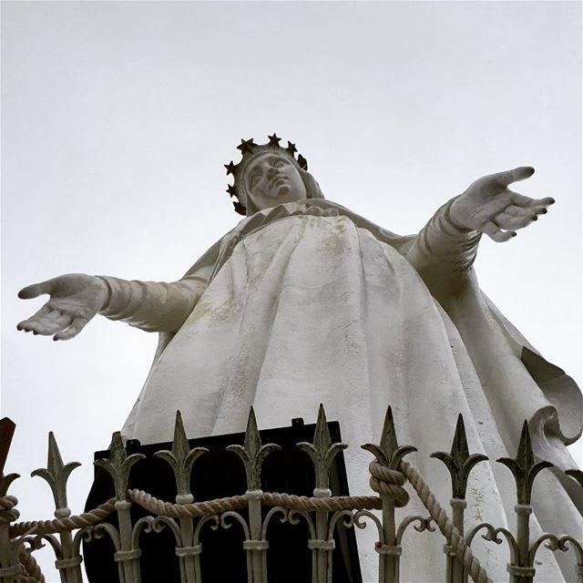 Virgin Mary Harissa virginmary Saint Virgin Vierge مريم_العذراء ...