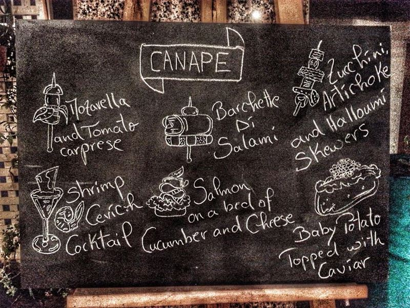 "It's Tomorrow hungryfoodies, ""Canapés"" we start at 8 with a live... (Em's cuisine)"