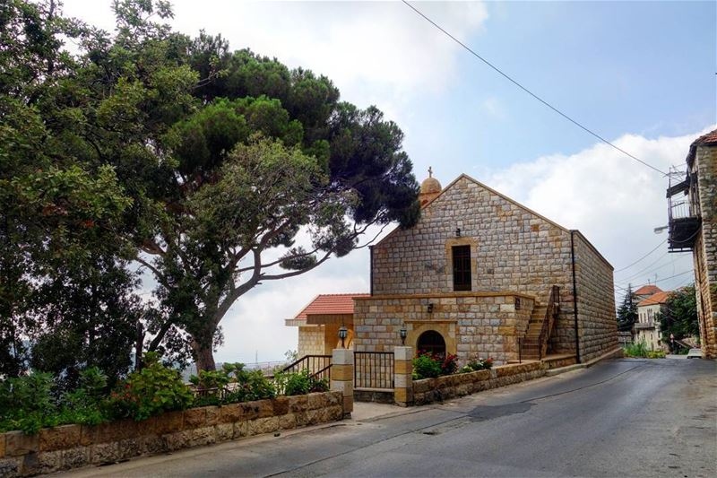 "⛪🏡🙋‍♀️ ""Every morning prepare your soul for a tranquil day."" - Saint... (Beït Chabâb, Mont-Liban, Lebanon)"
