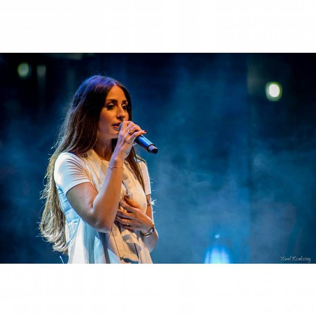 The beautiful hiba tawaji in concert hibatawaji  concert  beautiful  ... (Hadeth, Mont-Liban, Lebanon)