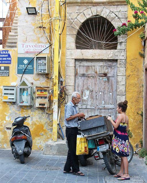 🍦 بياع البوظة (Tyre, Lebanon)