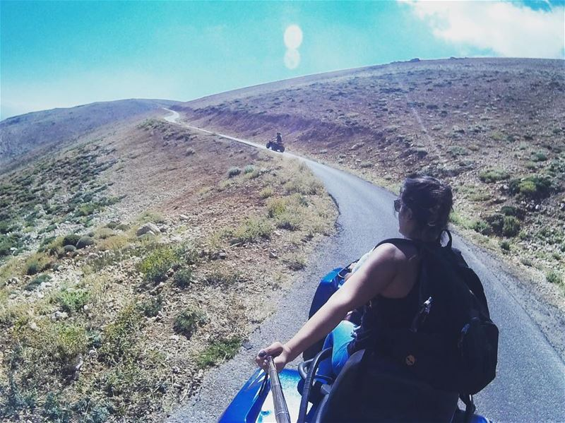 Another adventure, another road, same thrill vroomvroom 🚜 lebanon ... (Bcharré, Liban-Nord, Lebanon)