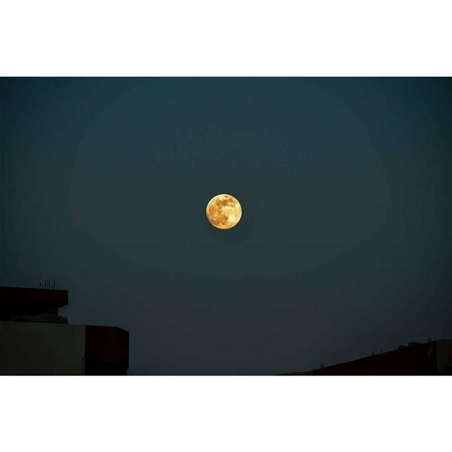 © Milad lamaa | 7:50 PM | 2017 fullmoon full moon contrast ...