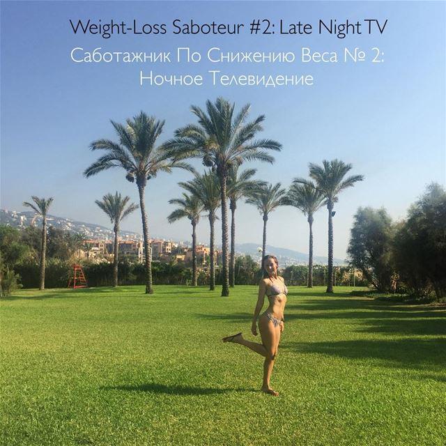 ✔️Weight-Loss Saboteur 2: Late Night TVNon getting enough deep, non-R.E.M (Eddésands Hotel & Wellness Resort)
