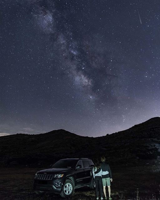 Best things in life are free, The rest are too expensive ! 🌌💫 (Akoura, Mont-Liban, Lebanon)
