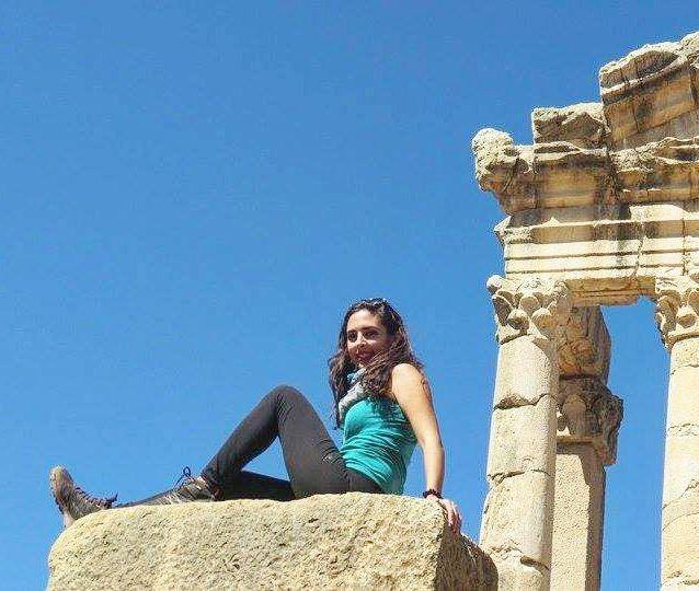 architecture ruins fakra temple girl livelovekfardebian beautiful ... (Kfardebian village)