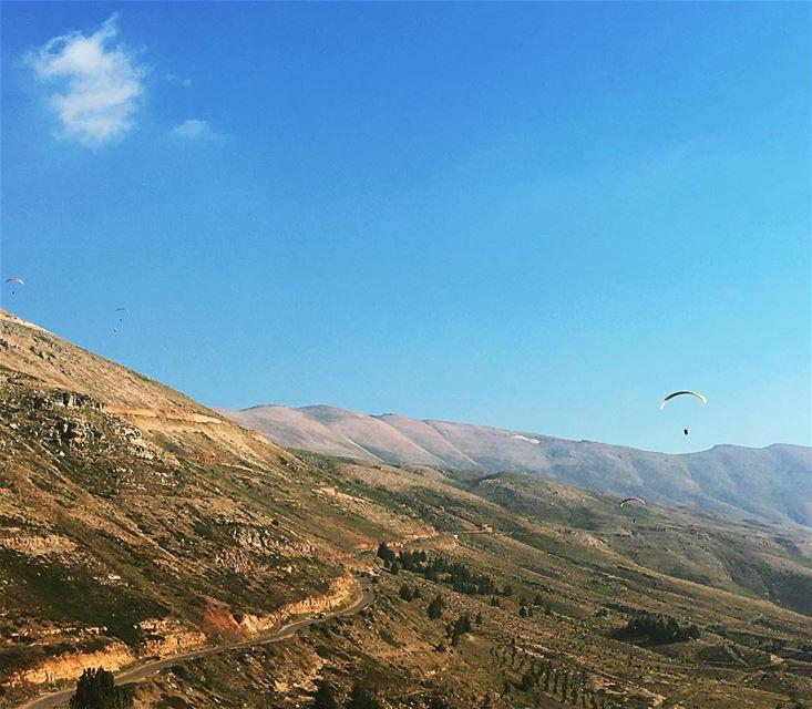 A piece of sky 🇱🇧 arez bcharre lebanon viewoflebanon ... (Cedars of God)