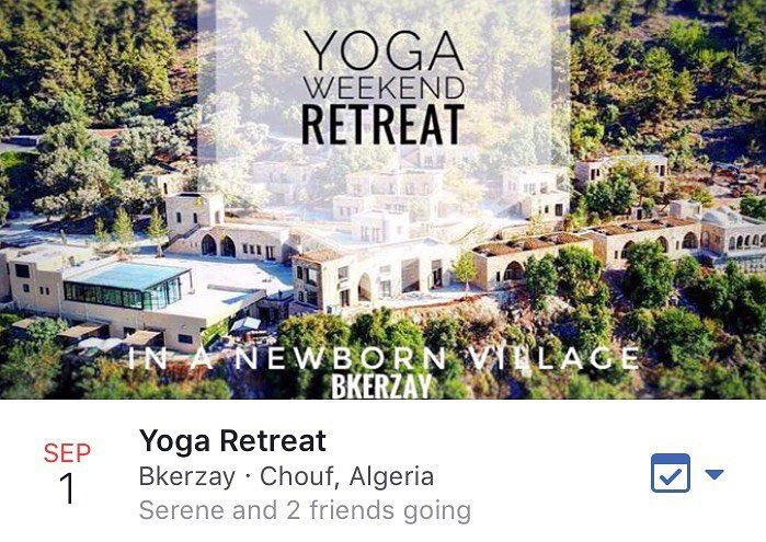 Let's come together for this lovely weekend retreat in the new born...