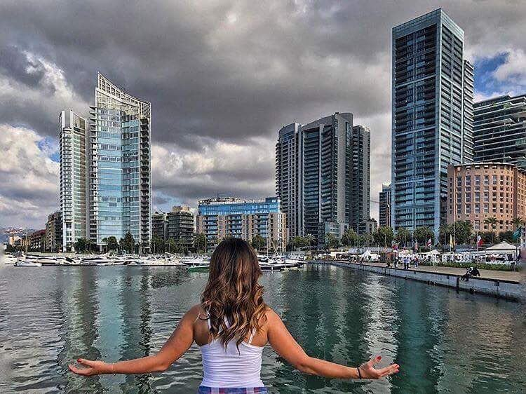 "•""How gorgeous is the city of mine?!🔥"" By Sara El Dana.... (Beirut, Lebanon)"