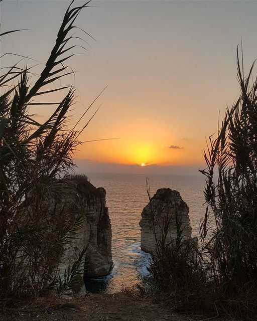 Sunset of Friday is the New Hope of Saturday..🌅💛📸.. grateful ... (Beirut, Lebanon)