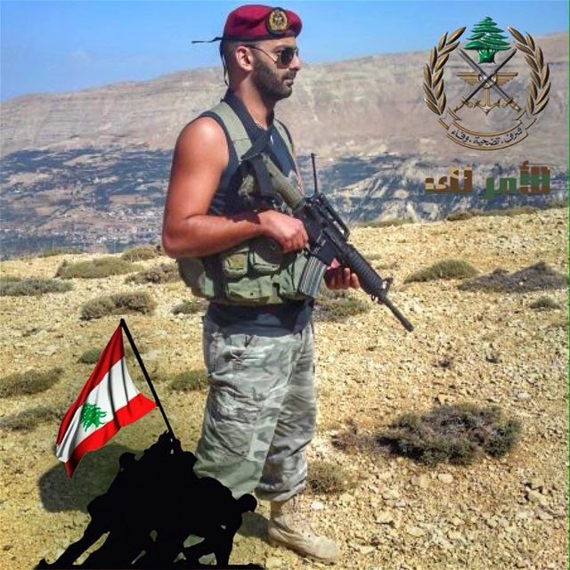 "We are all Lebanese Army with his war against "" isis ""...🇱🇧✌️ فجر_الجرود..."