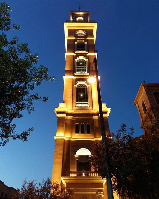 lebanon beirut night church photooftheday picoftheday instaphoto insta... (Downtown Beirut)