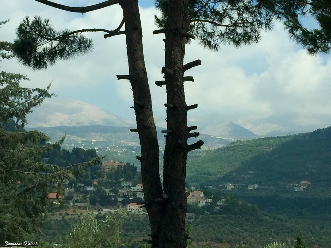 nature landscapephotography mazraatelchouf mountains sky clouds ...