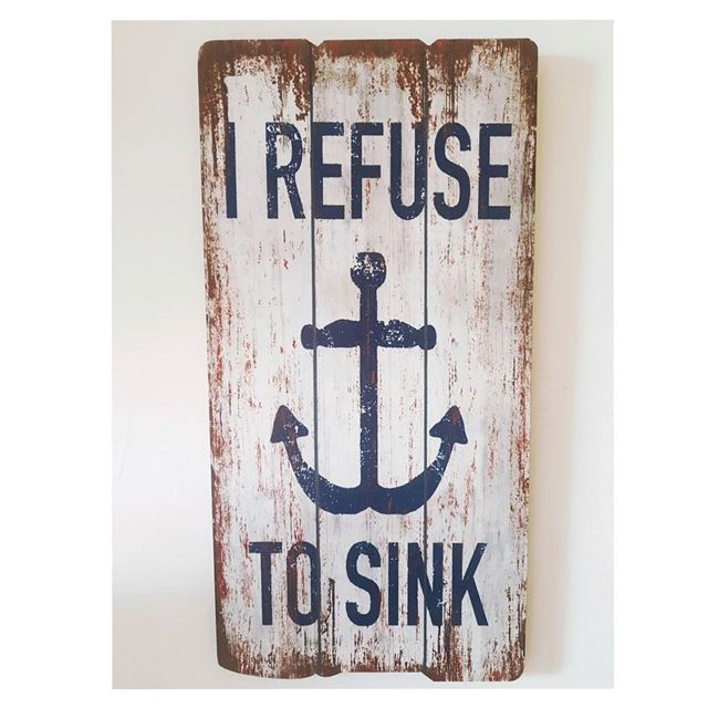 I REFUSE TO SINK ⚓--- TakeMeTo Wanderlust TravelWanderlust SeaLife... (Wanderlust)