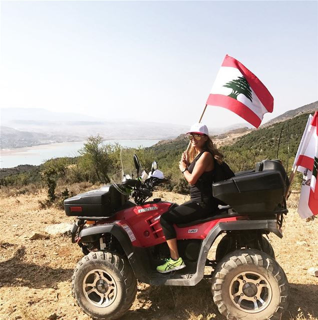 Supporting the Lebanese Army❤️🇱🇧 hiking saghbine livelovesaghbine ... (Saghbîne, Béqaa, Lebanon)
