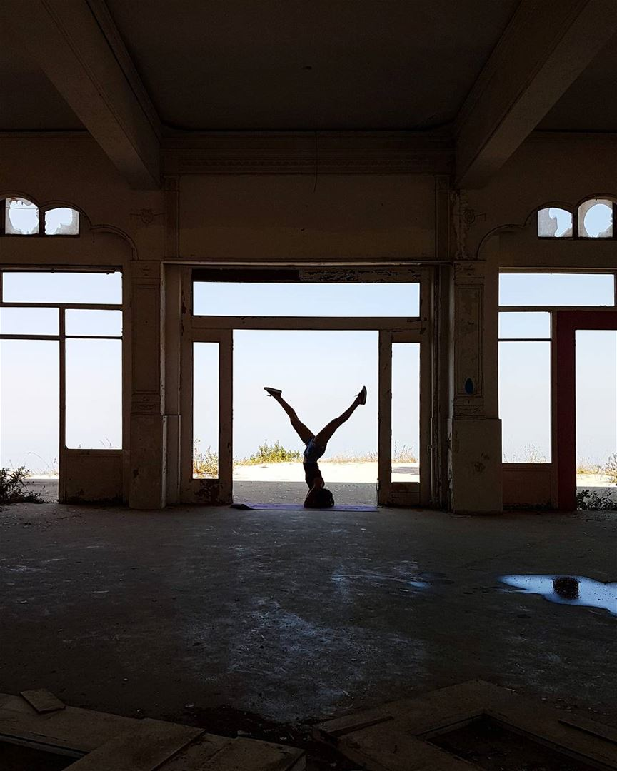 ~ Abandoned Hotel ~... silhouette silhouette_creative abandoned ...