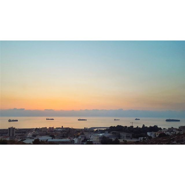 Greyjoy's day off....... gameofthrones greyjoys sunset ... (Lebanon)