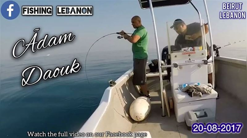 @ahmaddaouk22 @fishinglebanon @instagramfishing @jiggingworld @rasbeirutroc (Beirut, Lebanon)