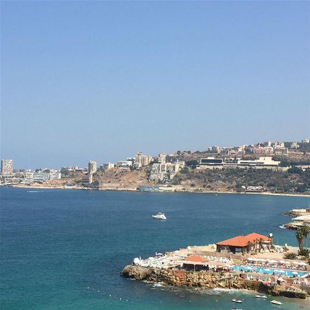 lebanon mediterranean summer sea seaview sunny livelovelebanon ... (Jounieh-maamltein)