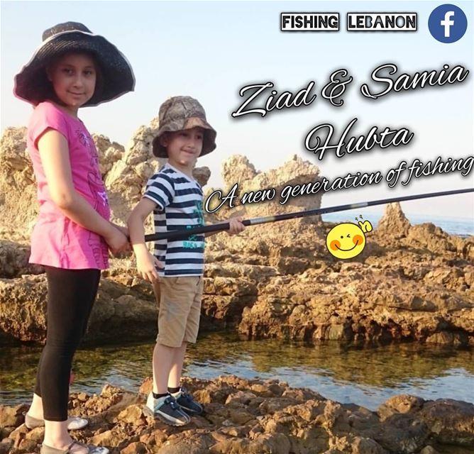 Ziad & Samia Hubta @tarekhubtaa @fishinglebanon @instagramfishing @jiggingw (Lebanon)