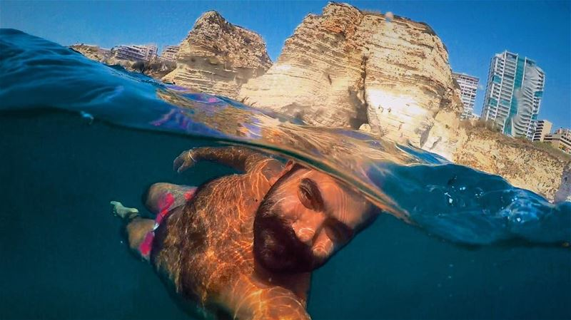 """"""" Mermaids have more fun"""" 👑 gopro goprohero4 beach pictureoftheday ... (لبنان)"""