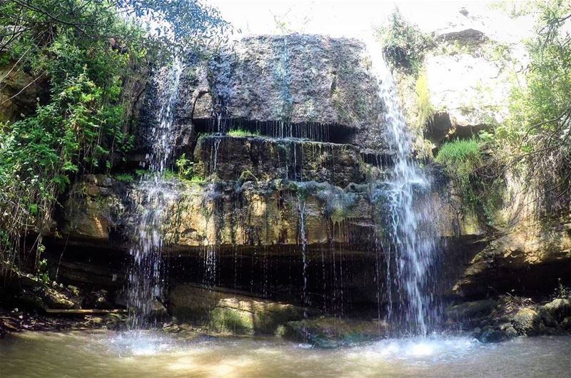 NaturalPool Waterfall Summer Nature Faraya Lebanon livelovelebanon ... (Faraya, Mont-Liban, Lebanon)