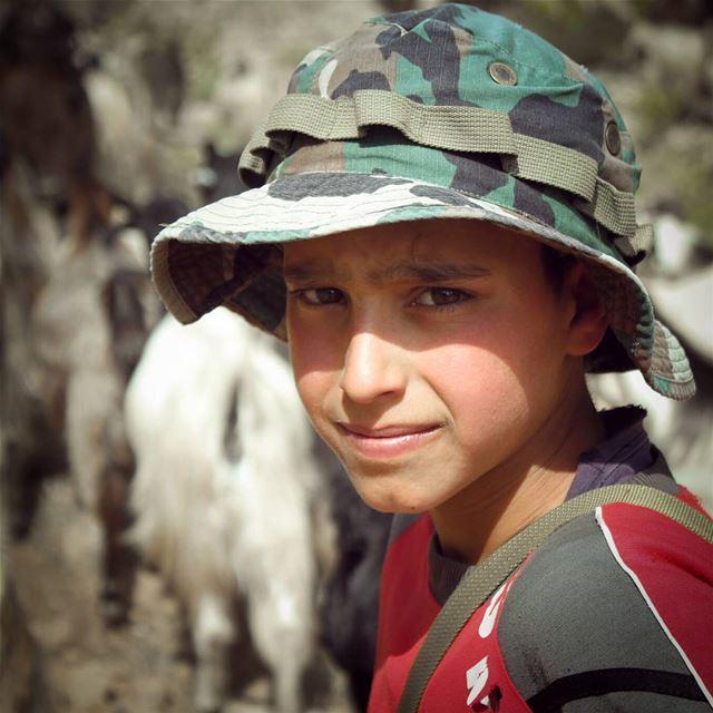 الحلو خدودو حمر ❤..The leader with the beautiful face and red cheeks ❤... (`Akkar, Liban-Nord, Lebanon)