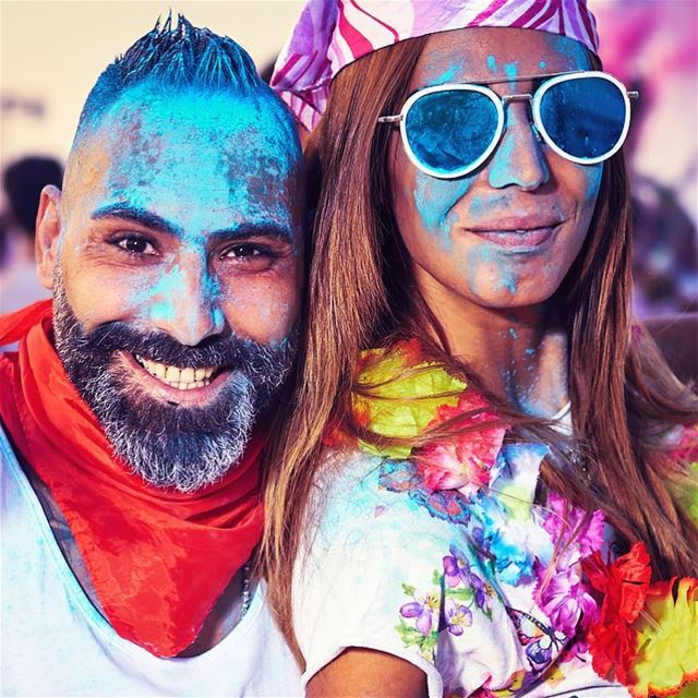 LiveLoveColor.For this lovely couple, Life can't get more colorful...