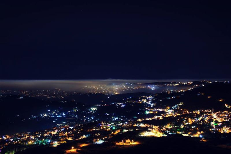 Summer Nights & City Lights 🍃...Canon EOS 💯D... citylife ... (Falougha, Mont-Liban, Lebanon)