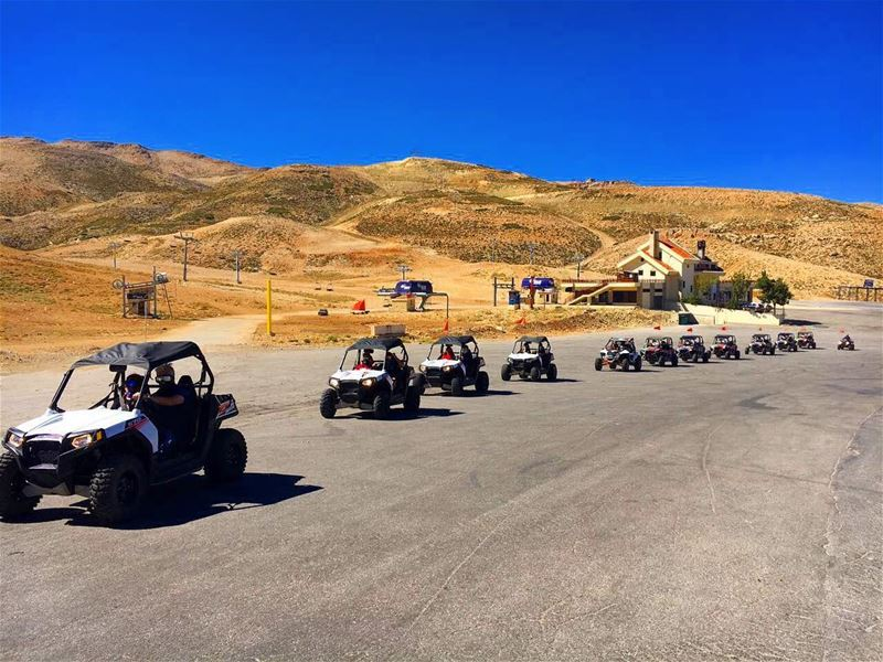 It's gonna be a looong ride ! polarislebanon  rzr  atv  adventure ...