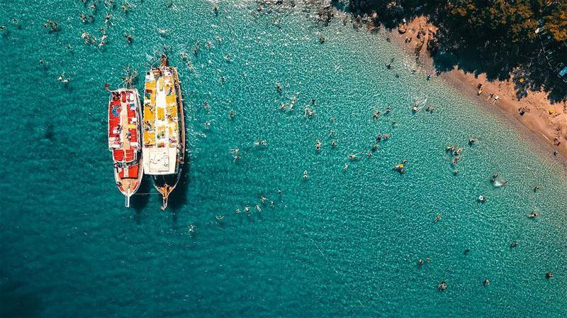 Today we tour the beautiful islands of Marmaris; Turkey. 🇹🇷🚁🇱🇧🚁📍Dro (İncekum Orman Kampı)