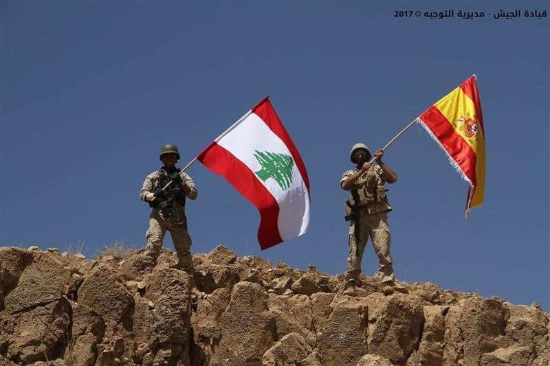 In Battle Against ISIS, the Lebanese Army Pays Tribute To Spain's...