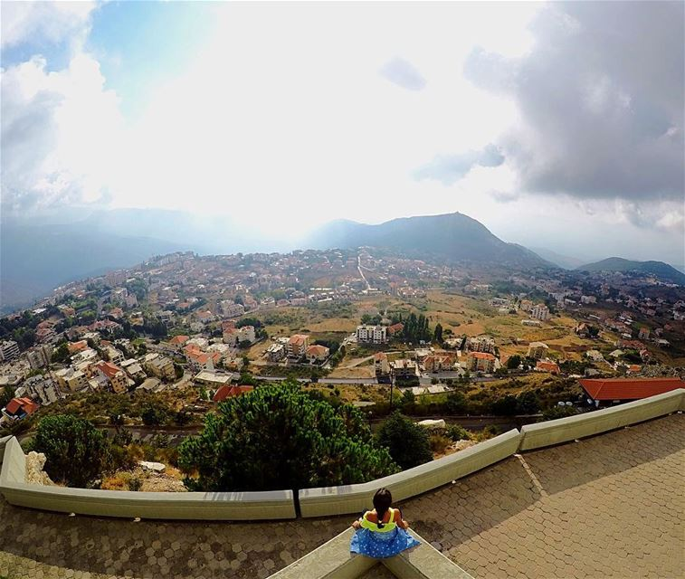 Beautiful Ehden! 💚 ehden zgharta northlebanon lebanon beautifulview ... (Saydet El Hosn - Ehden)