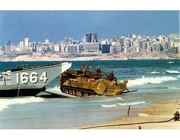 The capital occupation.Ramlet el bayda, Beirut, Lebanon | 1983..... (Beirut, Lebanon)