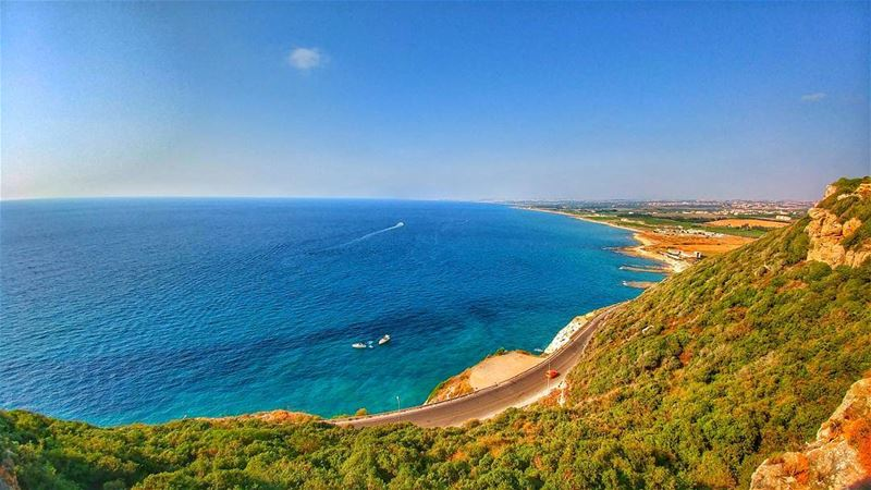 From Naqoura with love 💙........... lebanon lebanon_hdr ...
