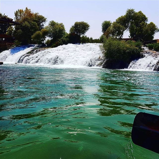 Summer is ❤❤🚣🚣🇱🇧🇱🇧 adventuretime summerinlebanon rafting water ... (Al Assi River-Hermel, Lebanon)