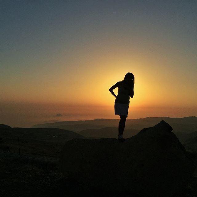 Sunset @vitalina.a LiveLoveLebanon wearelebanon lebanonbyalocal ... (Baskinta, Lebanon)