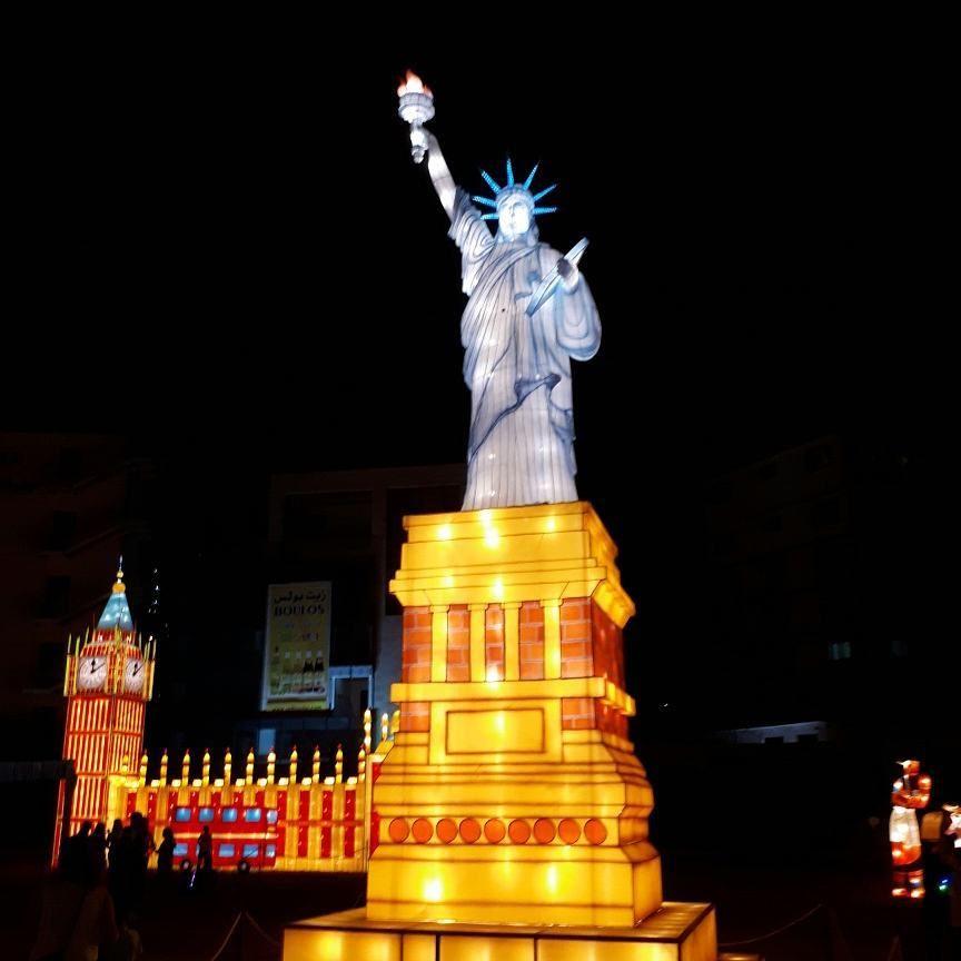 wonderland magicalcityoflights jouniehsummerfestival light statues ...