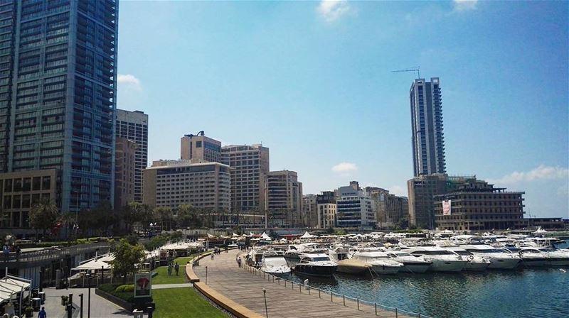 summer summertime lebanon city beirut zaitunay zaitunaybay ... (Zaitunay Bay)