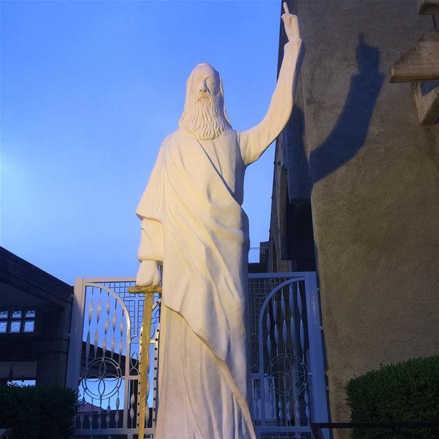 saint elias saintelias faith religion catholic lebanon ig_lebanon ... (Ballouneh, Mont-Liban, Lebanon)