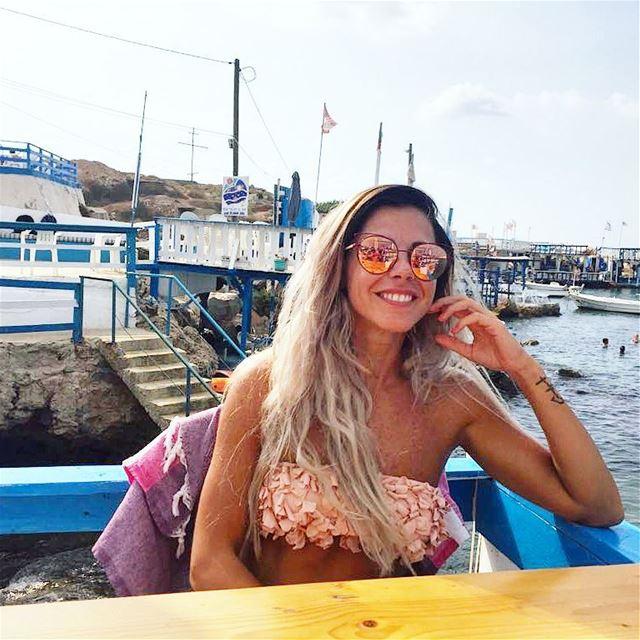 Time is non-refundable ❤😄 fresh freespirit bythesea happyface smile ... (Ta7t El Ri7 - Anfeh)