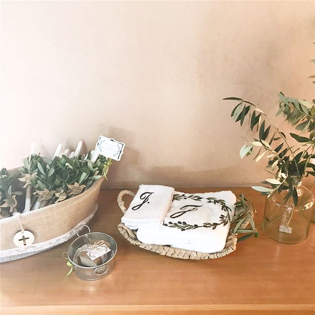 Tree of LIFE 🌿Baptism set up, towel, candle, soap, giveaway, flower......