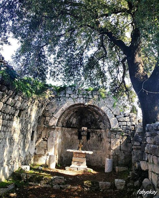 One of the oldest Virgin Mary's churches in Lebanon.... ******************* (Mar Nohra-smar Jbeil)