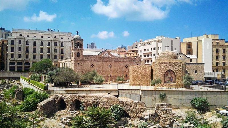 summer summertime lebanon city beirut amazing ruins architecture ... (Beirut, Lebanon)