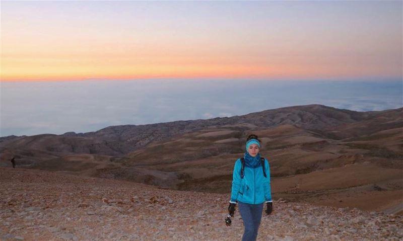 Why do we keep hiking the Black Peak? To catch the epic sunrises and... (Qurnat as Sawda')